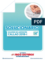 Solucionario UNAC 2018-1