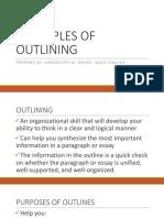 Eapp Lesson 7- Outlining