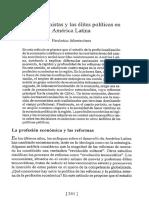 Montecinos (1997) El Valor Simbólico de Los Economistas en La Democratización de La Política Chilena