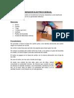 Generador Eléctrico Manual