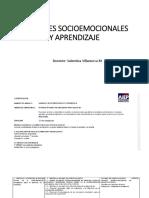 Variables Socioemocionales y Aprendizaje (1)