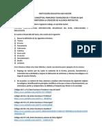 Taller Conceptos, Principios Tecnológicos y Técnicos