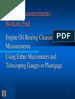 Engine Measurements Bottom End 2