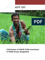 CSO South Annex 2 Study Report_CSO Review_GAFSP PrSW_ PRAN_Bangladesh Copy