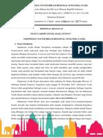 Proposal Kegiatan pengabdian masyarakat di Lontung sumatera utara
