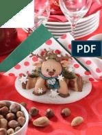 Servilletero Navidad - Porcelana Fria