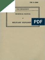 TM 9-2900, Military Explosives