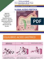 FARMACOLOGIA ACIDO GASTRICA