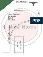 pdf bikini modelo 3 talle 4 bombacha + guia