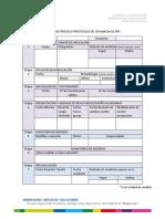 Matriz de Proceso Protocolo Rps