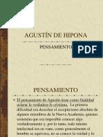 AGUSTÍN DE HIPONA, pensamiento