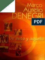 De esto y Aquello - Marco Aurelio Denegri