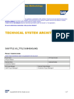 ZBTS Technical System Architecture TEMPLATE
