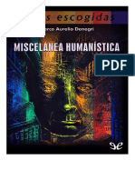 Miscelanea-humanistica de Marco Aurelio Denegri