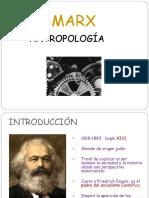 KARL MARX Antropología Revisada