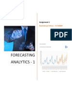 Forecasting - Assignment1