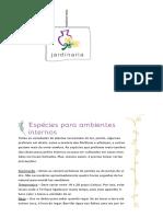 Espécies Para Ambientes Internos _ JARDINARIA
