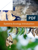 Systems Ecology Book