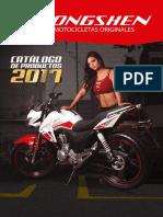 Catalogo Motos ZONGSHEN