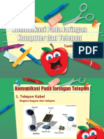 Komunikasi Jaringan Komputer Dan Telepon
