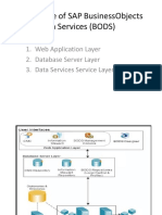 Architecture of SAP BusinessObjects Data Services (BODS