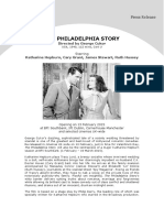 Bfi Press Release the Philadelphia Story 2014-12-04