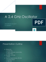 A 2.4 Ghz 10dbm Oscillator-presentation