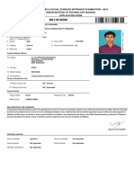 IIT HSEE Sample Application Form