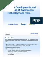 Coal Gasifier Processes