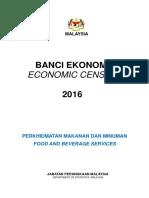 Penerbitan Banci Ekonomi 2016 Makanan Dan Minuman (1)
