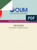 CBCP2202 Comp Programming II CAug14(Rs)(M)