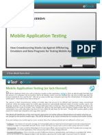 uTest eBook Mobile Testing