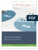 Summer of Science-Final Report