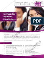 Voice Logger Brochure