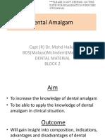 1. Dental Amalgam