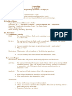 English Proficiency for Teachers Reviewer
