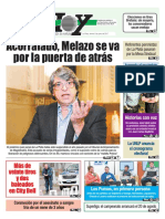 El Juez Kirchnerista Melazo Renuncia a Su Cargo