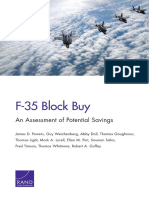 F-35 Block Buy - An Assessment of Potential Savings
