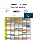 Informe Cajas Nidos 2013-2018