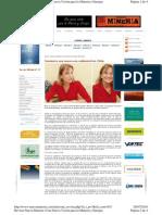 Revista Nueva Minería, Edición 23-07-2010 - Comienza una nueva era ambiental en Chile (Entrevista a Ministra de Medio Ambiente).