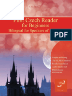 First Czech Reader for Beginners Bilingual for Speakers of English with embedded audio tracks