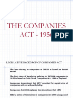 Company Law Revision 1