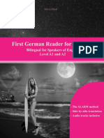 First German Reader for Students Bilingual for Speakers of English  Beginner Elementary (A1 A2)