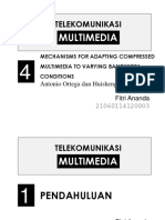 PRESENTASI REFERENSI2 Chap4 MultimediaCodingVaryingBandwidth