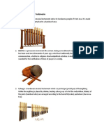 Musical Instruments of Indonesia