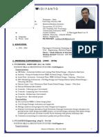 CV Widiyanto's 2018
