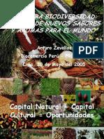 Nuestra Biodiversidad Fuente Nuevos Sabores Aromas Mundo 2005 Keyword Principal