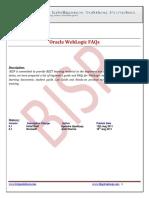 33 WebLogic FAQs Docx