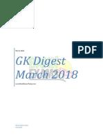 GK Digest March 2018