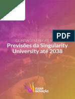 Previsões da Singularity University até 2038